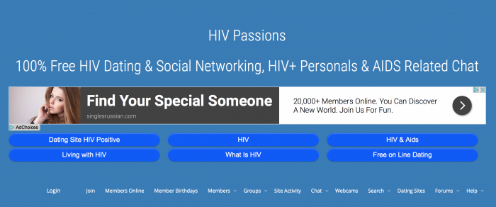 Hiv Passion Dating Site